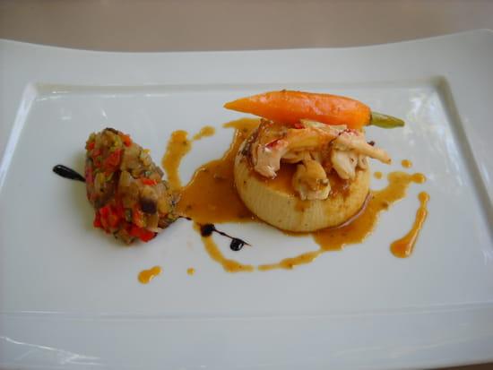 La Treille  - Royal foie gras et homard -   © MORON Raphaelle