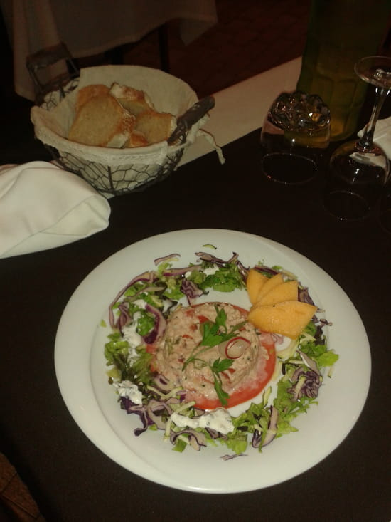 La Truffière  - Salade composée de La Truffière -   © Isabelle Petiet