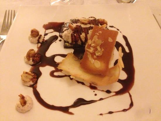 , Dessert : La Villa Regalido  - Tarte aux citrons glace      Pralinée  -
