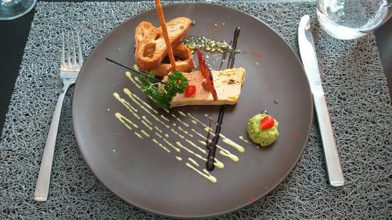 , Entrée : Le 6.3 Resto Home  - Foie gras  -