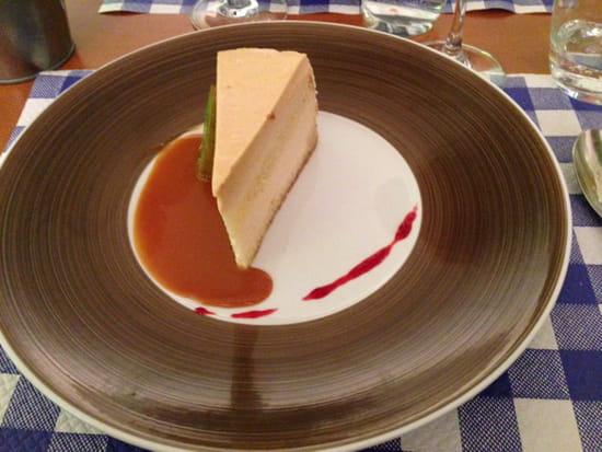 , Dessert : Le 7  - Bavarois de poires caramélisées  -