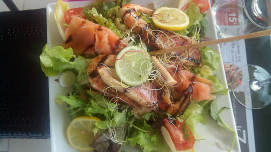, Plat : Le 7  - Salade oceane -