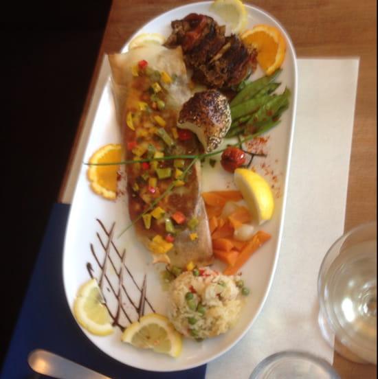 , Plat : Le Bar Restaurant de la Plage  - Croustillant de Lavaret -