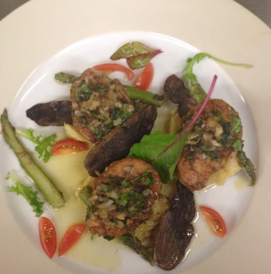 Le baroque restaurant de cuisine moderne bois le roi for Cuisine baroque moderne