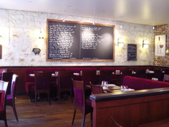 Le Bistro de Gaspard  - Le tableau des vins -   © daphné carré