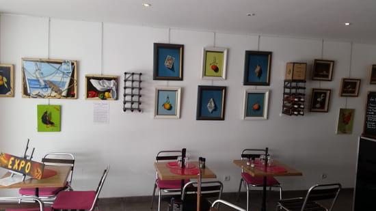 Le Bistrot Comptoir des Arts  - exposition de peintures -
