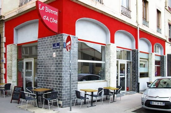 le bistrot d 39 c t brasserie bistrot lyon avec. Black Bedroom Furniture Sets. Home Design Ideas