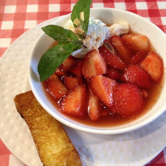 , Dessert : Le Bistrot Du Port  - Un régal! -