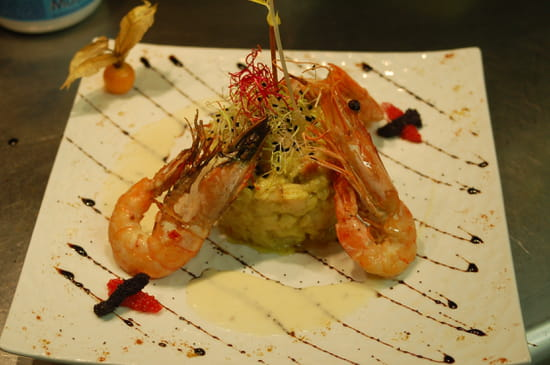 Le Bouche à Oreille  - Risotto aux fruits de mer -