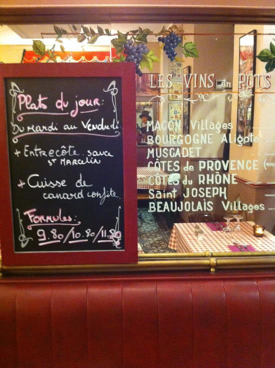 Le Bouche à Oreille  - Le plat du Jour et les Vins  -   © leboucheaoreille