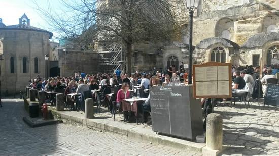 , Restaurant : Le Bouchon  - Vu de la terrasse  -