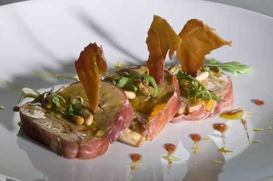 Le Bougainvillier  - foie gras -   © elisabeth rossolin