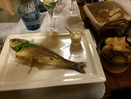 , Plat : Le Cabanon des Pêcheurs