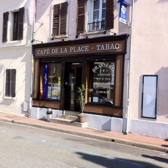 , Restaurant : Le Cafe de la Place