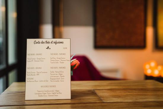 Le Café FauveParis  - Carte des thés et infusions -   © Café FauveParis