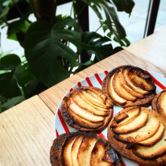 Le Café FauveParis  - Tartes fines aux pommes -   © Café FauveParis