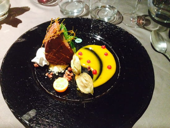 , Dessert : Le Caveau des Lys
