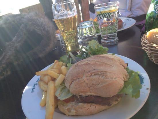 , Plat : Le Chalet des Bachais  - Burger savoyard -