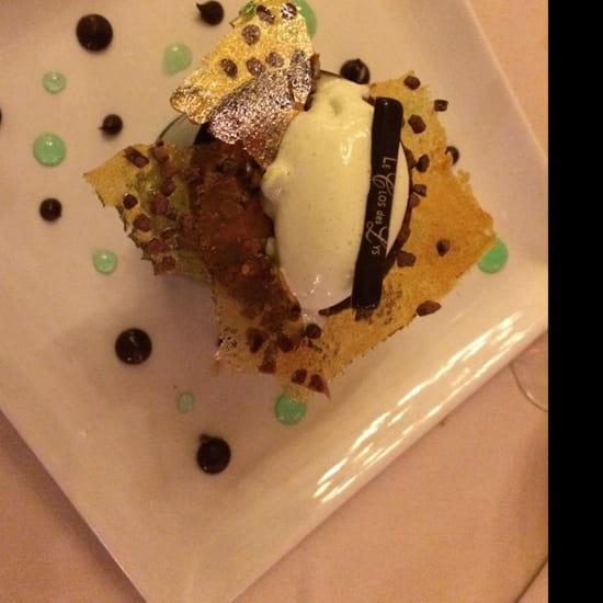 , Dessert : Le Clos des Lys  - Le choc menthe  -
