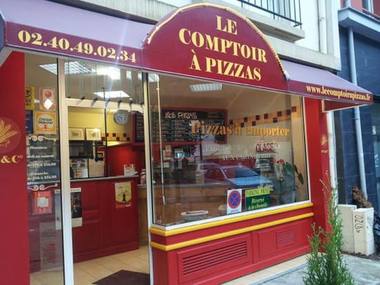 le comptoir pizzas restaurant italien nantes avec. Black Bedroom Furniture Sets. Home Design Ideas