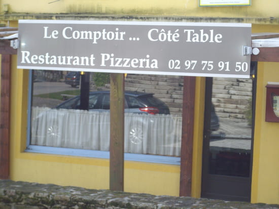 Le Comptoir Coté Table  - Coté table -   © Le Comptoir (Sérent)