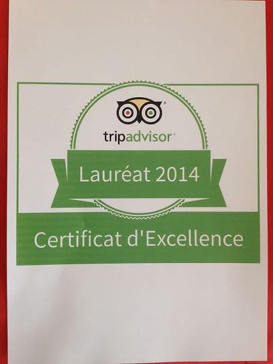 Le Da Vinci  - Certificat d'Excellence -
