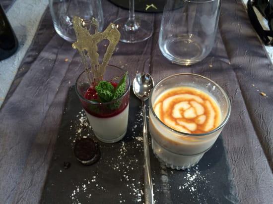 , Dessert : Le Daniel's  - Riz au lait au caramel au beurre salé  -