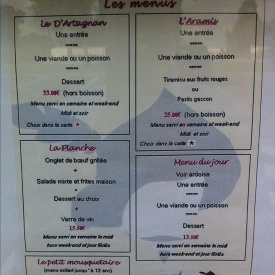 , Restaurant : Le Dartagnan