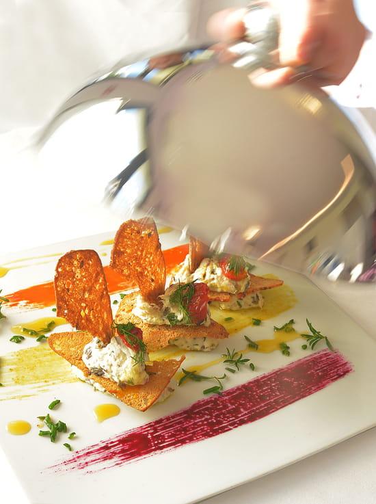 Le Domaine  - Plat restaurant Le Domaine -