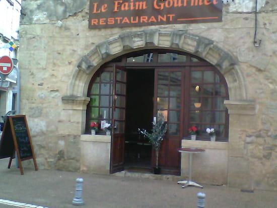 Le Faim Gourmet  - facade du restaurant de la rue des chais -