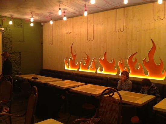 Le Flamboire  - la salle -   © jyc