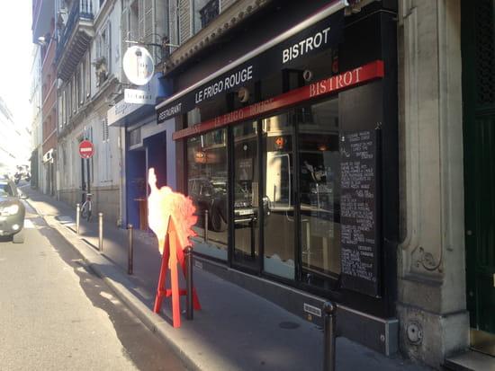 Le Frigo Rouge Bistrot Restaurant  - FACADE RUE -   © MOI MEME