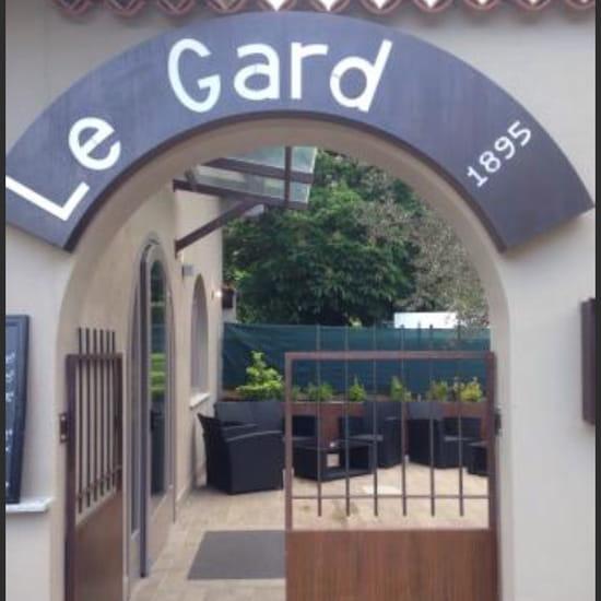 , Entrée : Le Gard 1895  - Entrée du restaurant  -