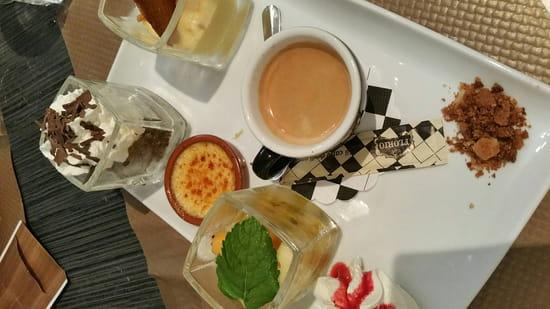 , Dessert : Le Garde Manger  - Café gourmand  -