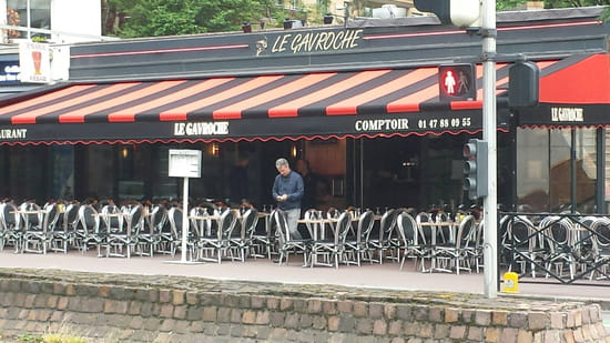 , Restaurant : LE GAVROCHE