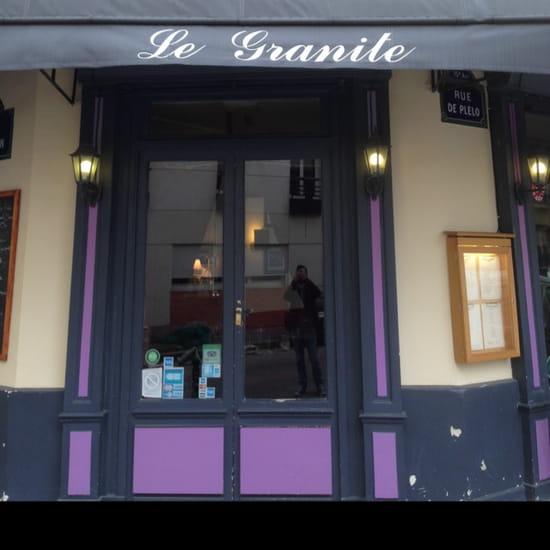 , Entrée : Le Granite