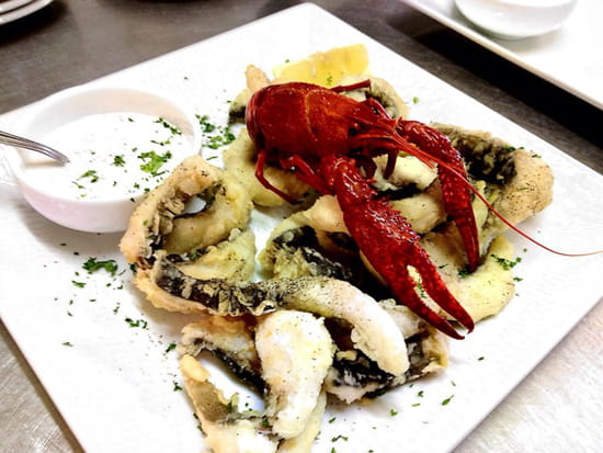 , Plat : Le héron gourmand  - Frites de carpes sauce tartare -