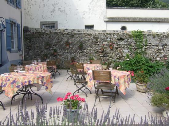 Le jardin des brouches restaurant gastronomique for Resto avec jardin