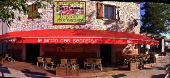 , Restaurant : Le Jardin des Secrets