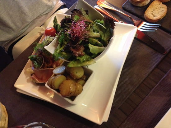 , Plat : Le Jardin Gourmand