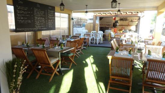 Le jardin la bodega restaurant de cuisine for Restaurant le jardin vias