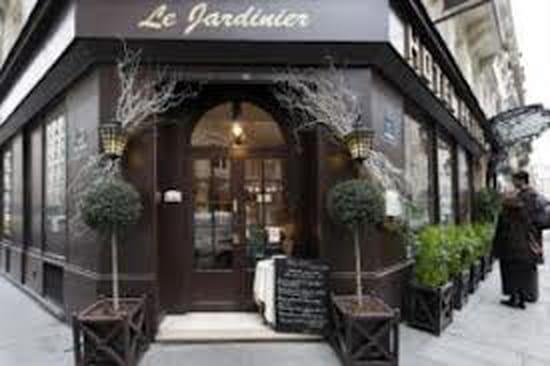 Le jardinier restaurant gastronomique paris avec for Recherche jardinier paris