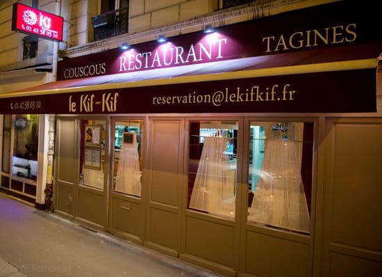 Le Kif-Kif  - Restaurant Le Kif-Kif, rue Damrémont 75018 Paris -   © Marin Pomperski