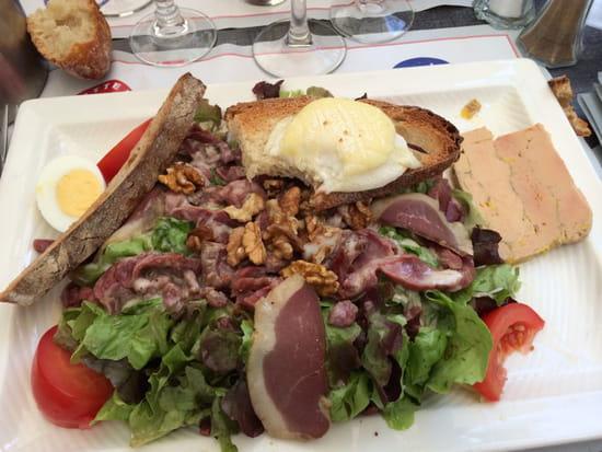 , Plat : Le Lamparo  - Salade du terroirs -