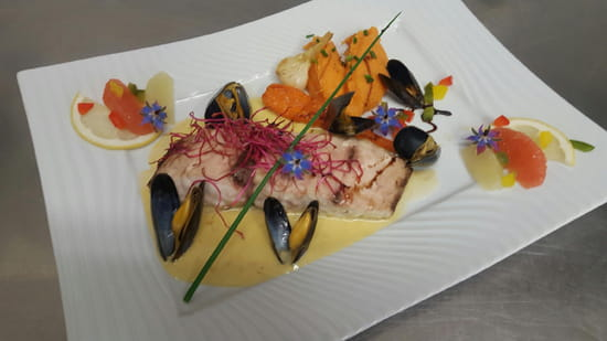 Le Marin restaurant  - suggestion du chef -   © nathalie denel