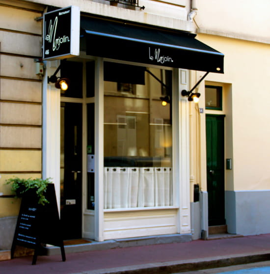 Le Marjolin  - Facade du restaurant Le Marjolin. -   © studio Koala