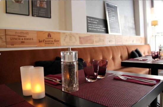 Le Marjolin  - Table dressée Le Marjolin. -