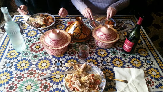 , Plat : Le Marrakech  - Le couscous royal -
