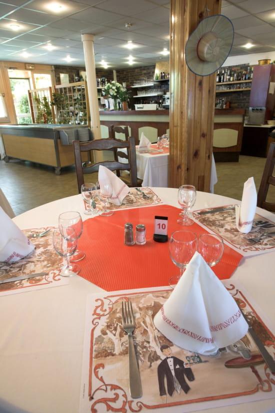 Le Martin Pêcheur - Guinguette de l'Ecluse  - Table du restaurant -