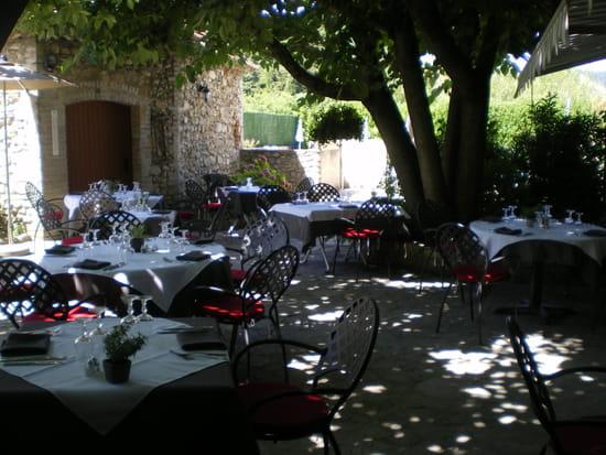 Le Mas de Bérianne  - la terrasse -